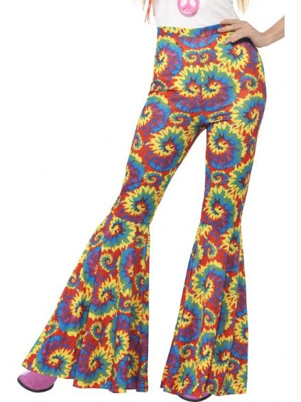 Mulit-coloured Flared Trousers